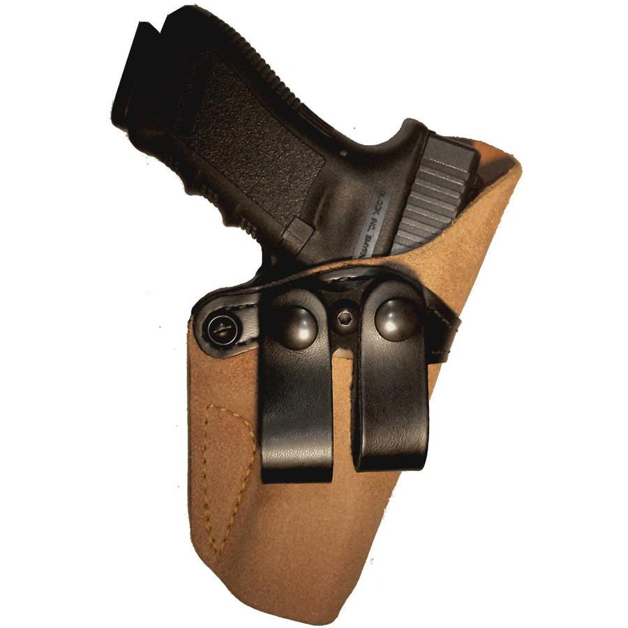 G&G 808-195 Chestnut Brown with Black Belt Loops Inside Pants Holster