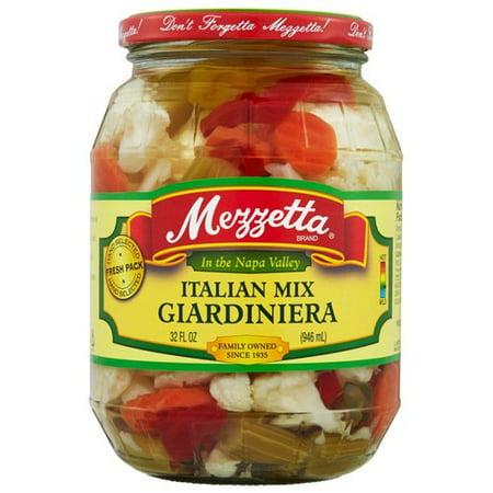 Mezzetta Italian Mix Giardiniera, 32 fl oz
