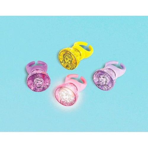 Disney Princess 'Dream Big' Light-Up Rings / Favors (4pc)