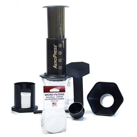American Press Coffee Maker Reviews : AeroPress Coffee and Espresso Maker with Bonus 350 Micro Filters - Walmart.com