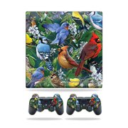 Skin Wrap for Sony Playstation 3 PS3 Slim + 2 controllers Backyard Gathering