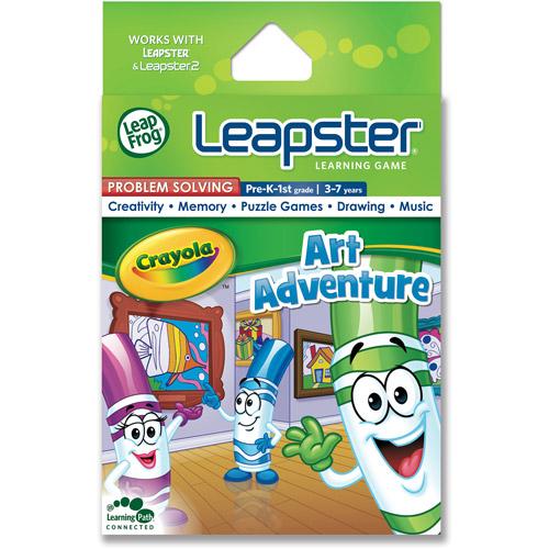 LeapFrog Leapster Learning Game, Crayola Art Adventure
