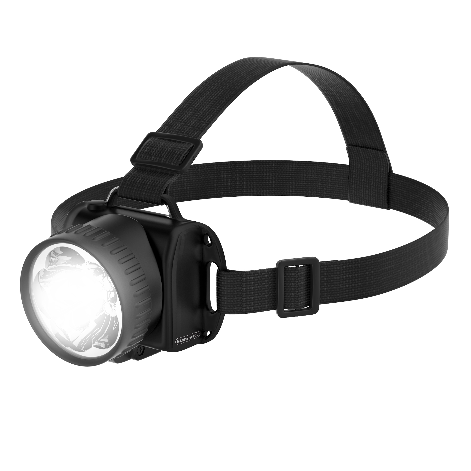 Super Bright 5-LED Headlamp with Adjustable Strap