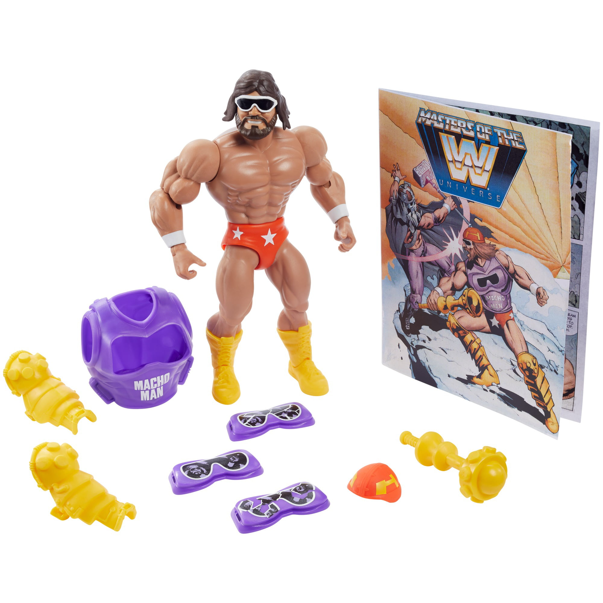 Assorted Wrestlers Mattel Masters of the WWE Universe