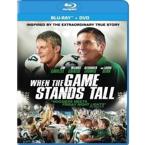 When The Game Stands Tall (Blu-ray + DVD + Digital HD) (With INSTAWATCH) (Widescreen)
