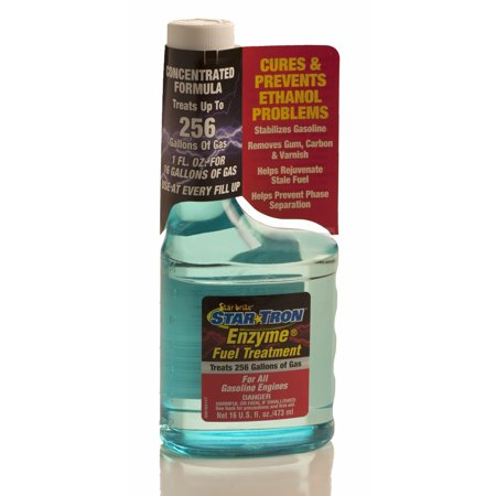 Star Tron Ethanol Gas Fuel Treatment Additive 16oz. Concentrate 256 Gallons (Star Tron Enzyme Fuel Treatment)