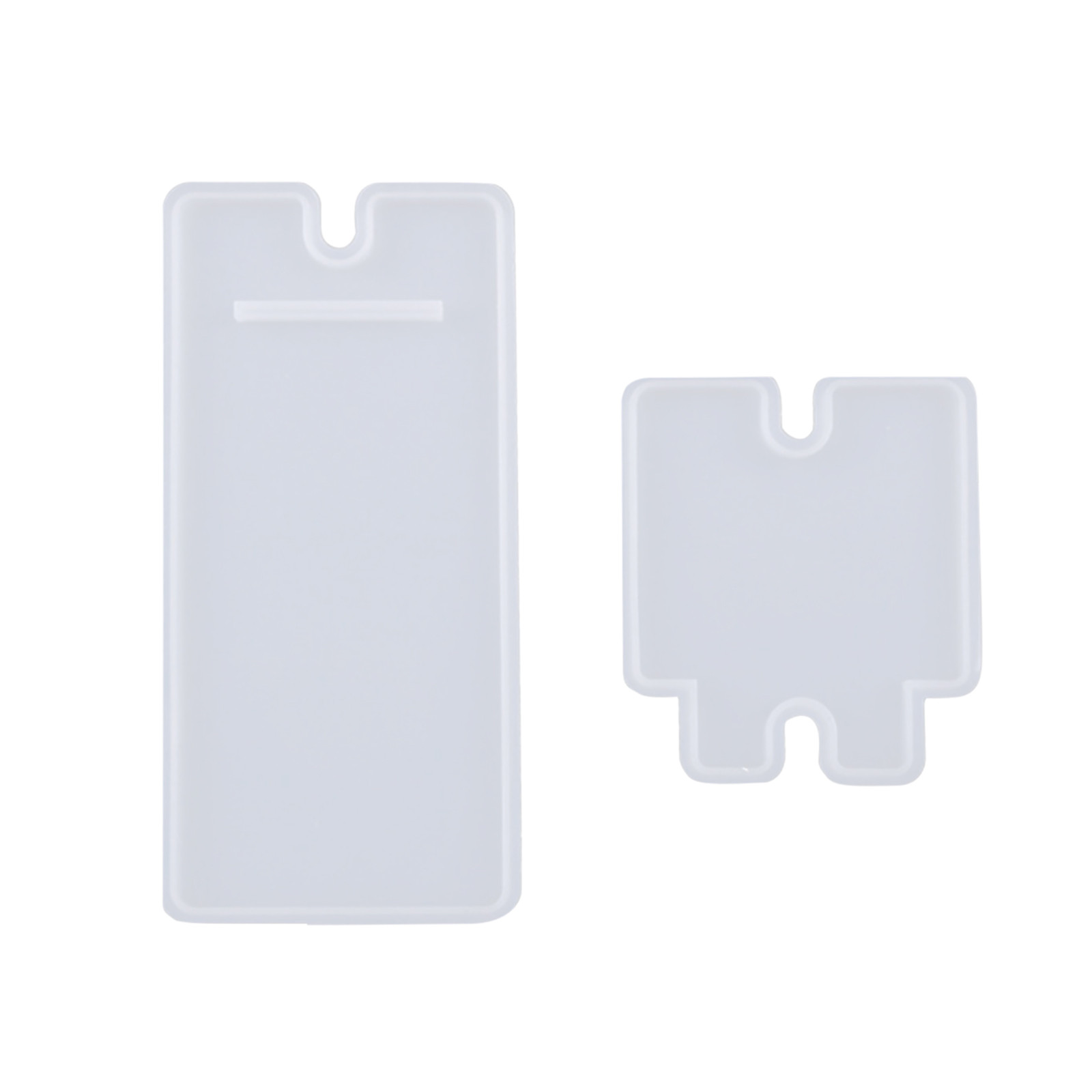 Silicone Mobile Phone Stand Holder Casting Mold Resin Epoxy Mould Craft Tool DIY