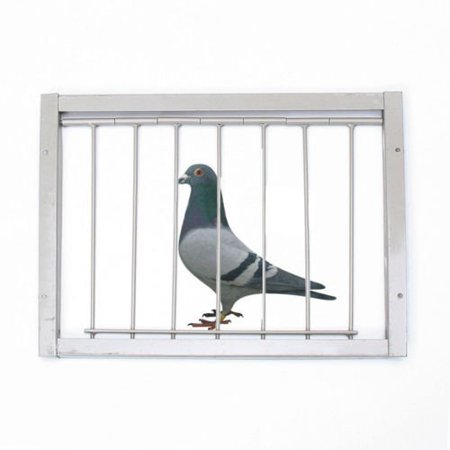 Pigeon Door Wire Bars Frame Entrance Trapping Doors Loft Supplies for Racing Pigeon Loft Birds Catch Bar ()