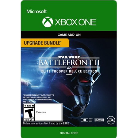 Star Wars Battlefront II: Elite Trooper Deluxe Edition Upgrade, Electronic Arts, Xbox One, [Digital