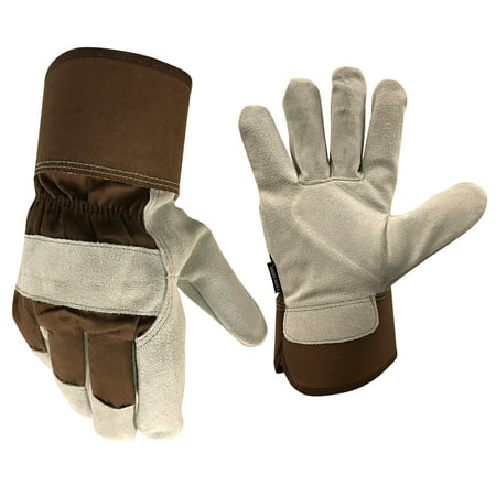 True Grip Insulated Suede Leather Palm Cold Weather Gloves, Size: Extra Large