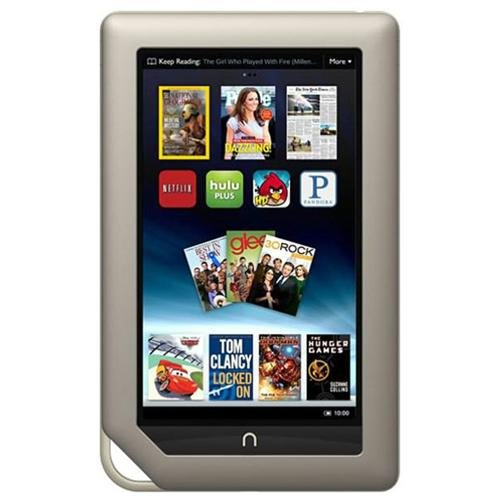 """Refurbished Barnes & Noble BNTV250A Nook Tablet 7"""" 8GB Touchscreen Wifi"""