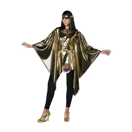 Cleopatra Womens Adult Egyptian Princess Instant Halloween Costume Set](Diy Egyptian Costume)