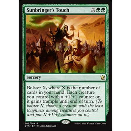 MtG Dragons of Tarkir Sunbringer's Touch (Touch Folio)