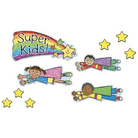 Job Assignment Bb Set (SUPER KIDS JOB ASSIGNMENT KID-DRAWN BB SET )