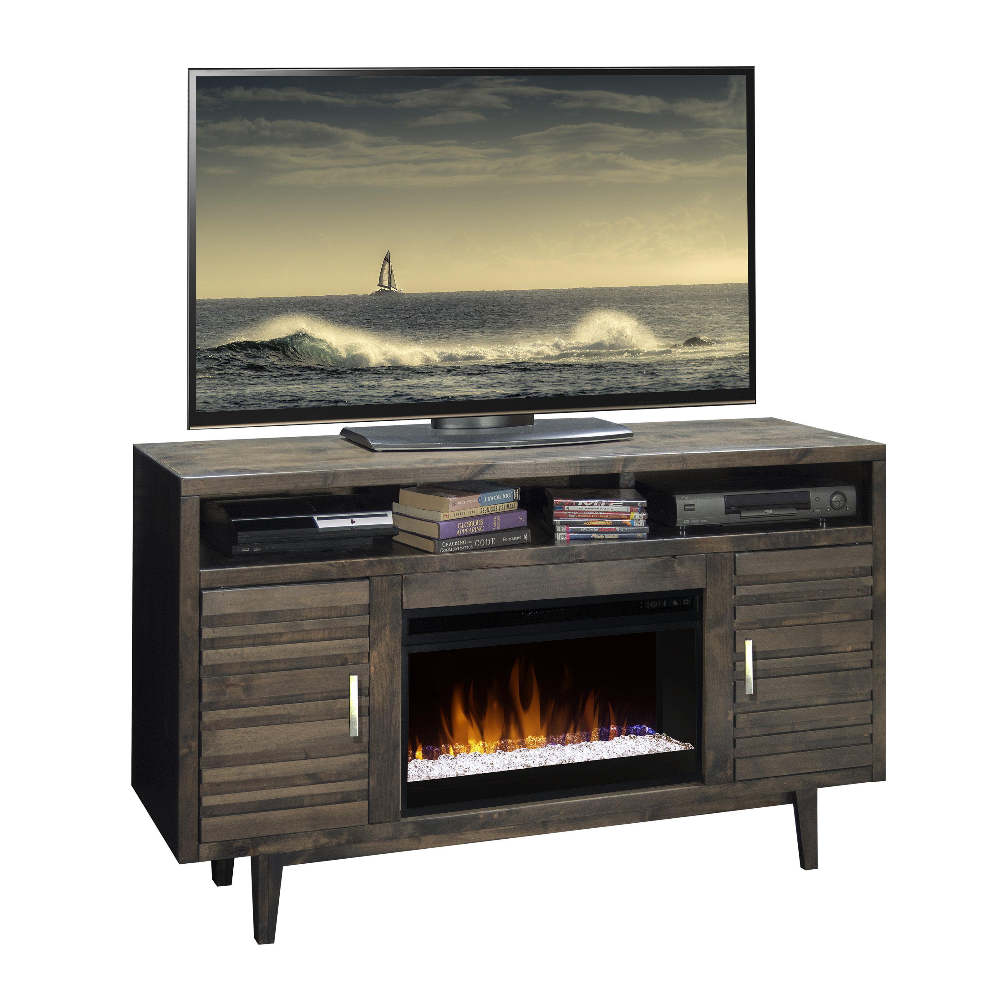 Legends Furniture Avondale 61 in. Electric Media Fireplace