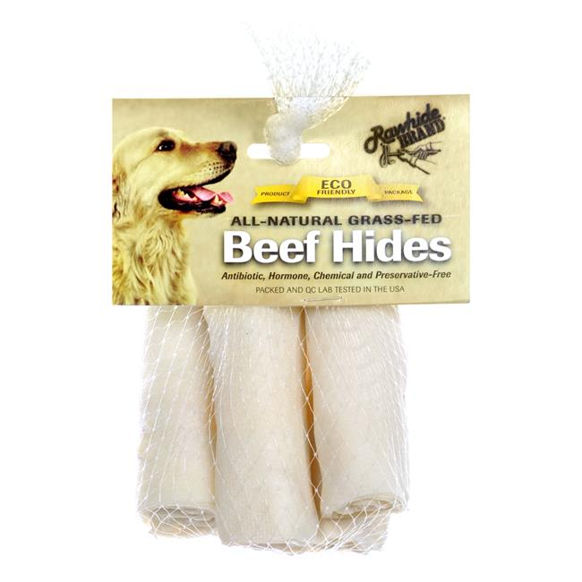 Pet Ag 031RB-47120E 4 in. Beef Hides Natural Roll, Pack of 5