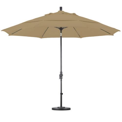 California Umbrella 11 ft. Fiberglass Double Vent Tilt Pacifica Market Umbrella