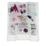 Caboodles Cosmetic Counter Nine Compartment Acrylic Case