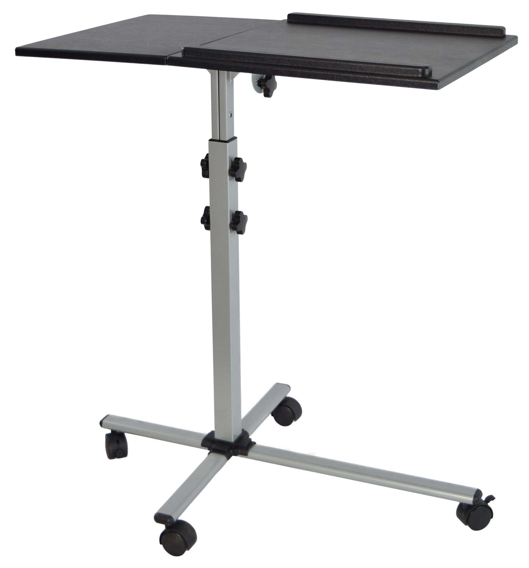 VIVO Projector U0026 Laptop Adjustable Trolley Presentation Cart Mobile  Projection Stand (CART V01L)   Walmart.com