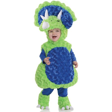 Triceratops Costume For Kids (Green Triceratops Toddler Halloween)
