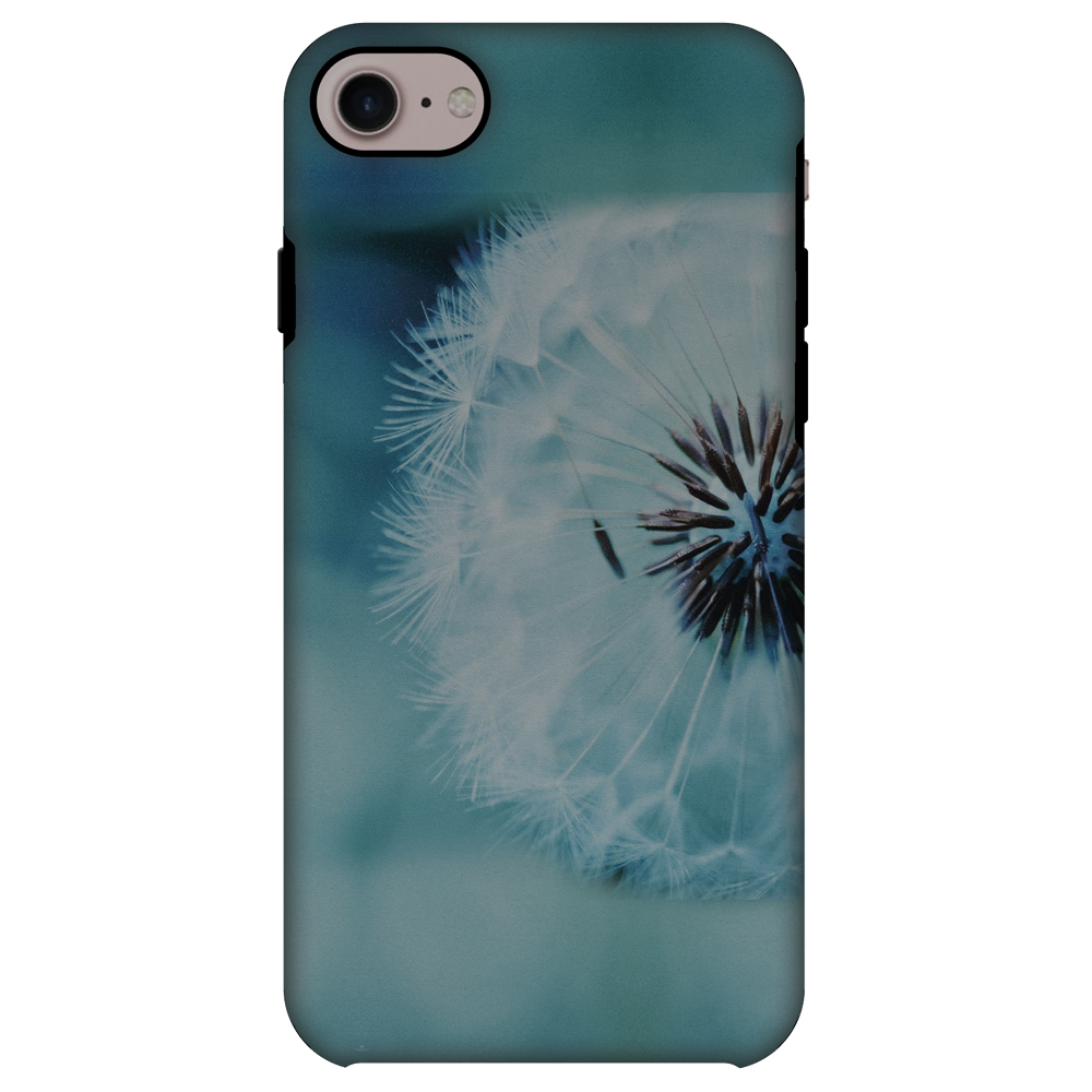 iPhone 7 Case, Premium 2 in 1 Slim Fit Handcrafted Printed Designer ShockProof Heavy Duty Protection Case Back Cover for Apple iPhone 7 - Dandelion Close By