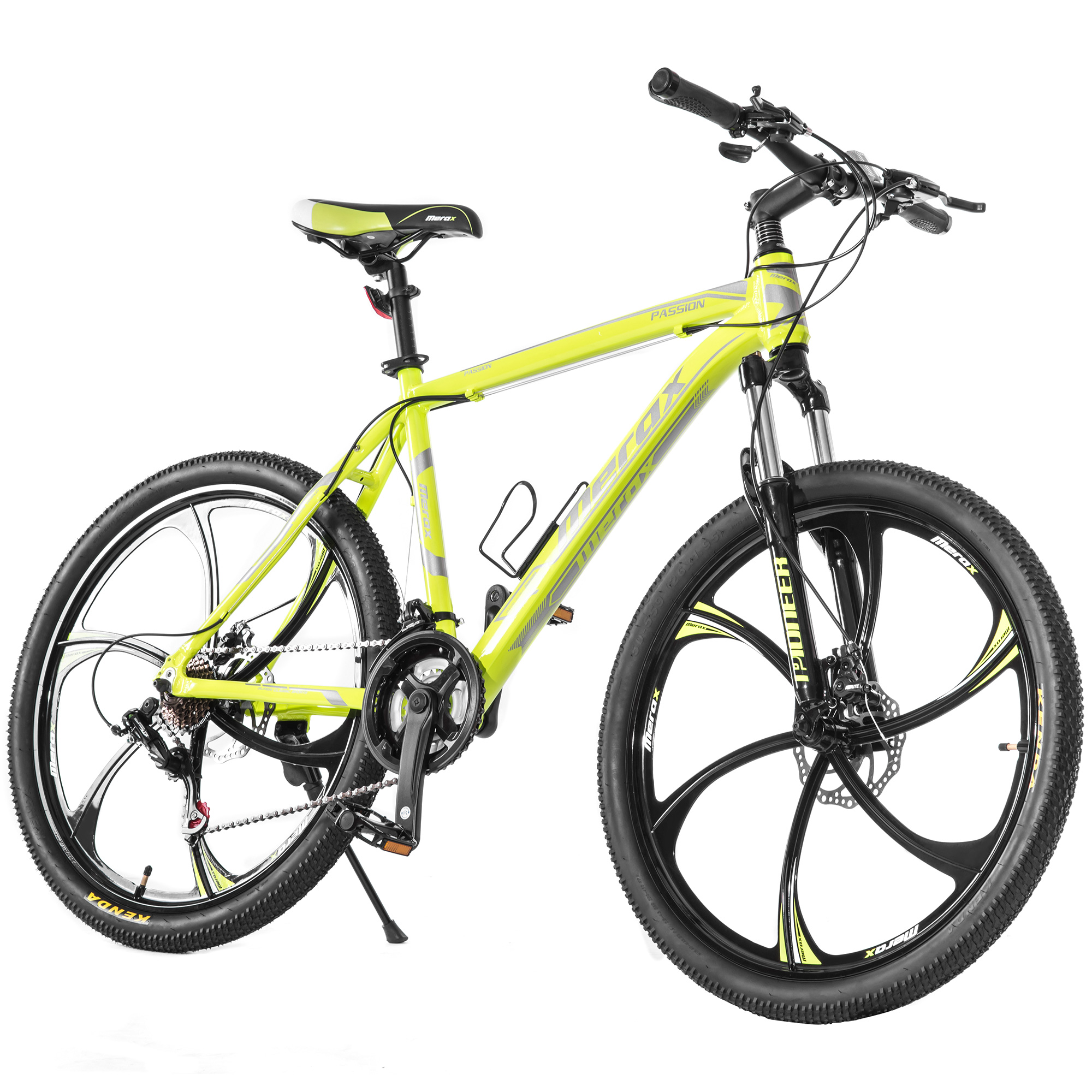 "Merax Finiss 26"" Aluminum 21 Speed Magnesium Alloy Wheel Mountain Bike"