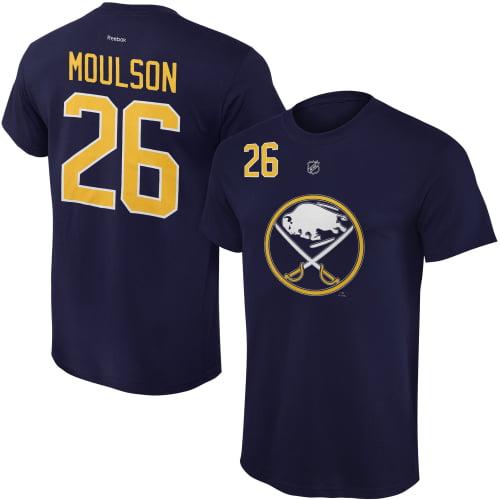 Matt Moulson Buffalo Sabres Reebok Youth Name and Number Player T-Shirt - Navy