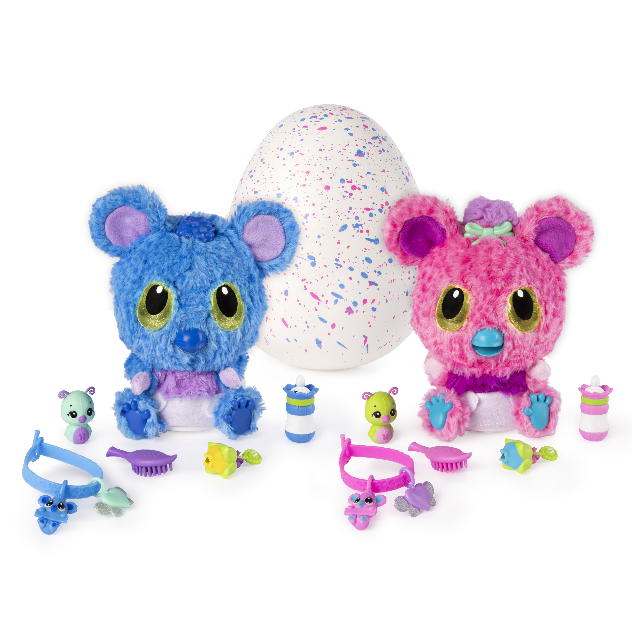 Hatchimal, hatchibabies koalabee, hatching egg with interactive pet baby (styles may vary), walmart exclusive, for ages 5 and up