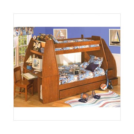 Bundle 79 Berg Enterprise Twin Bunk Bed With Stairs
