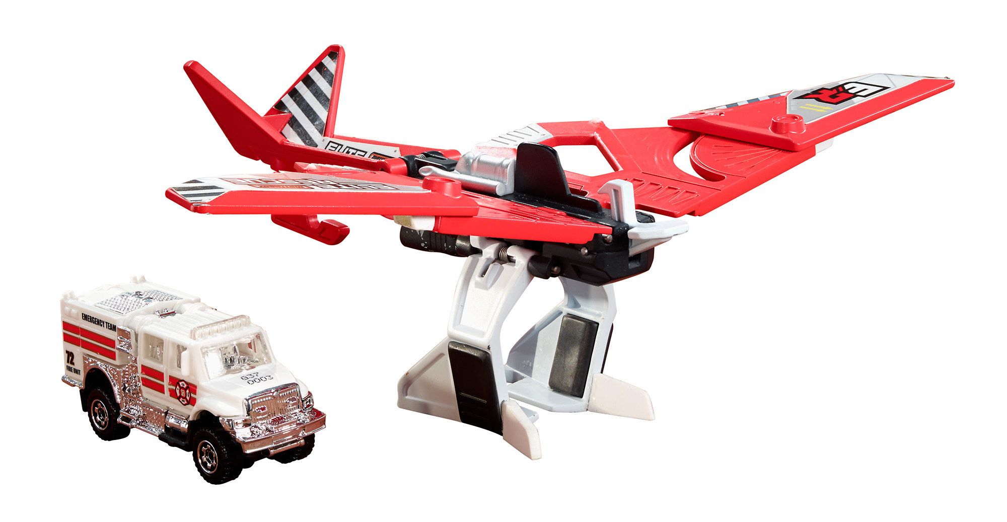Matchbox Elite Rescue Sky Shifter by Mattel