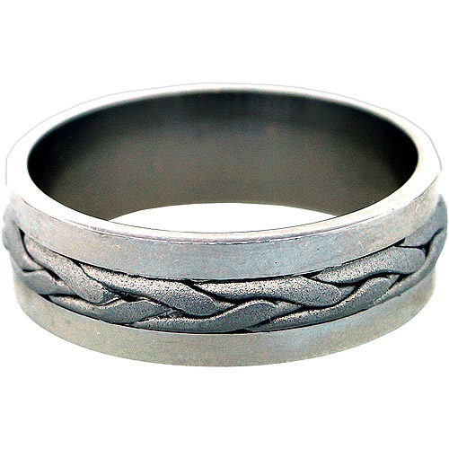 Men's Celtic Sterling Silver Band
