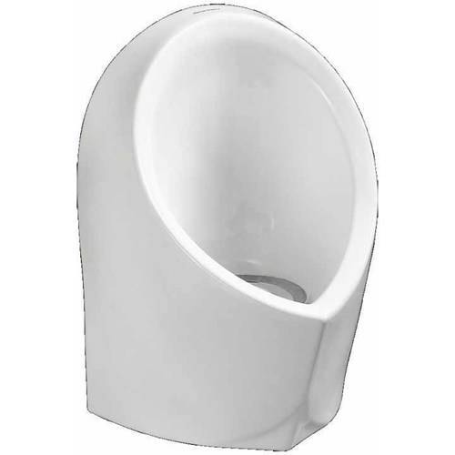 American Standard 6155100.020 SMALL WATERLESS URINAL WITH KIT WHT