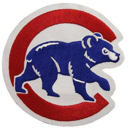 Chicago Cubs Secondary Logo Patch - No Size