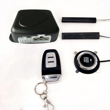 Car SUV Switch Keyless Entry Engine Start Alarm System with