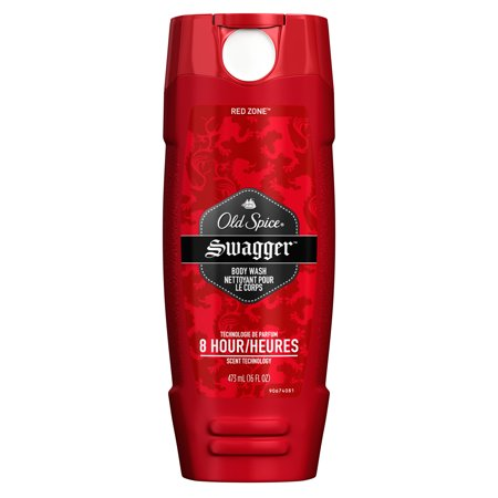 Old Spice Red Zone Swagger Scent Body Wash For Men  16 Oz