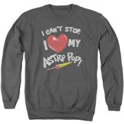 Astro Pop I Heart Mens Crewneck Sweatshirt