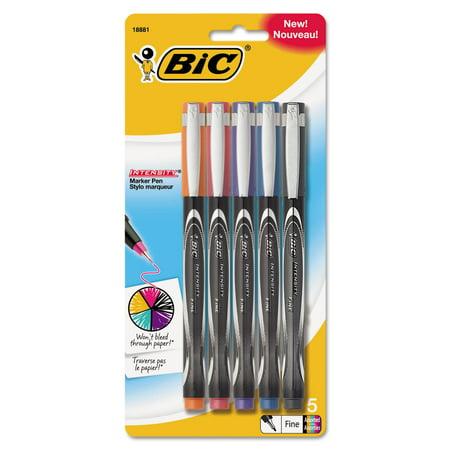 Intensity Stick Marker Pen, 0.5mm, Assorted Fashion Color Ink/Barrel,