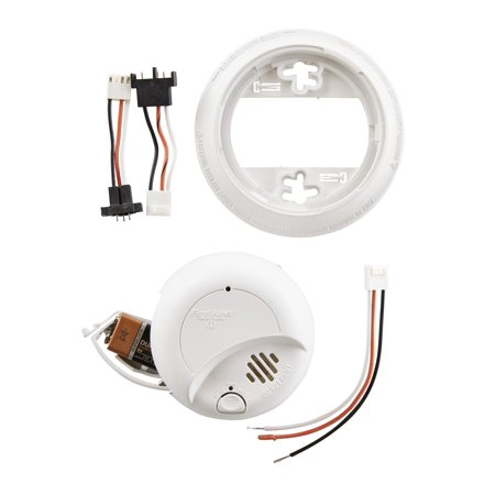 Fine First Alert Sa9120Bpcn 120V Ac Hardwired Smoke Alarm With Adapter Wiring Cloud Hisonuggs Outletorg