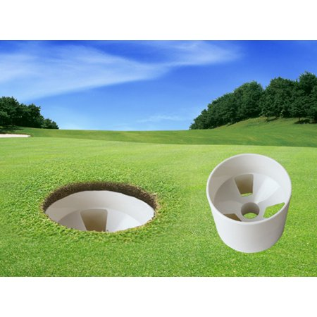 1Pc Practice Putting Green Golf Cup, Plastic Training Golf Hole (Golf Plastic Putting Cup)