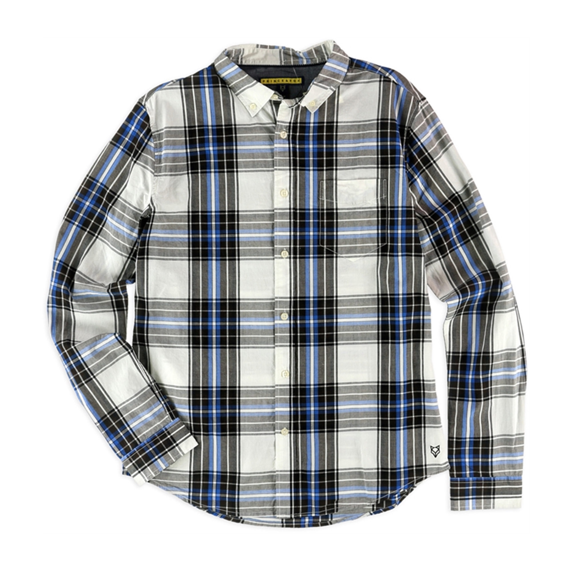 Aeropostale Mens Plaid Button Up Shirt