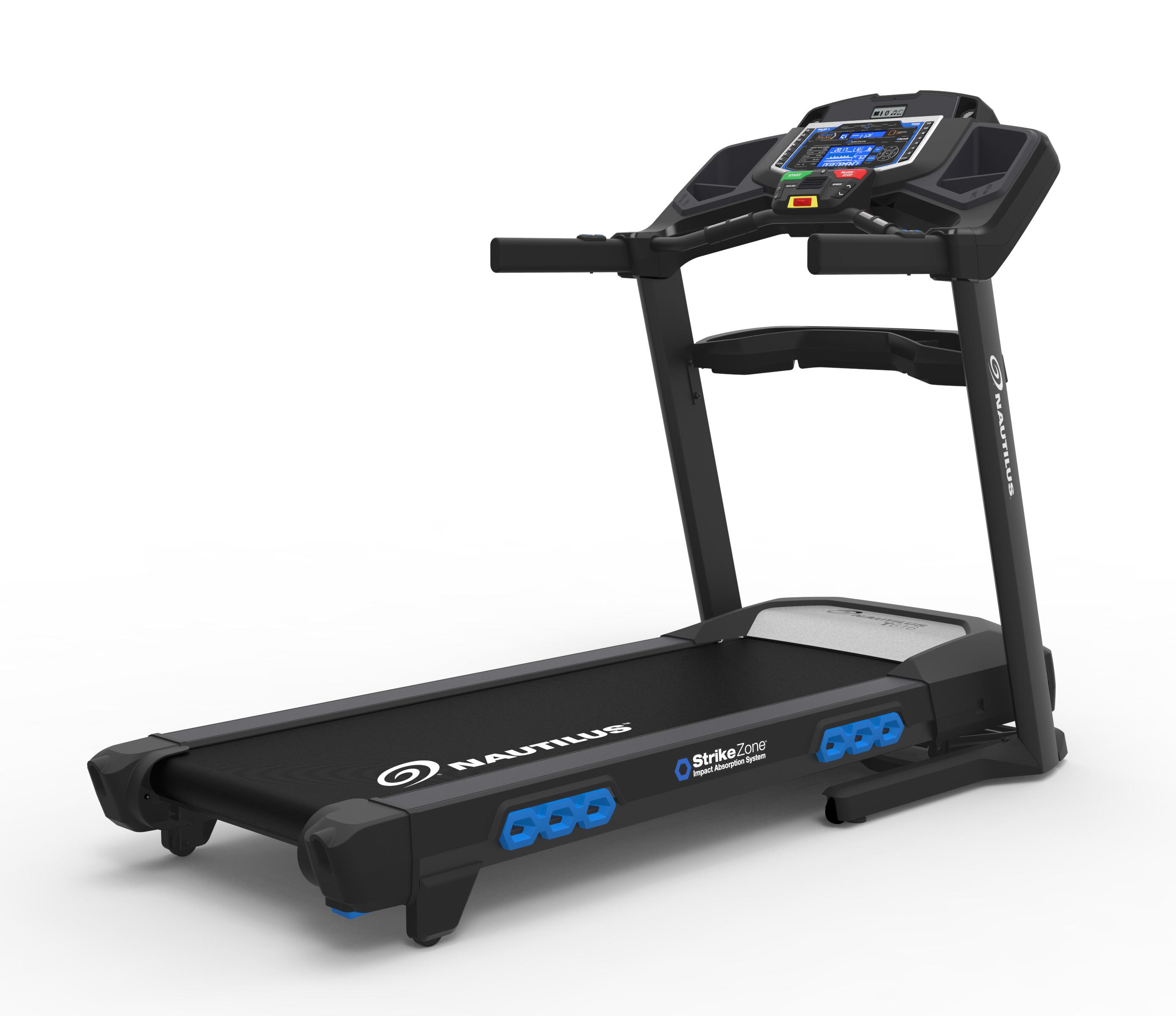 Nautilus T616 Bluetooth Treadmill with RunSocial & Nautilus Trainer 2 App Connectivity by Nautilus