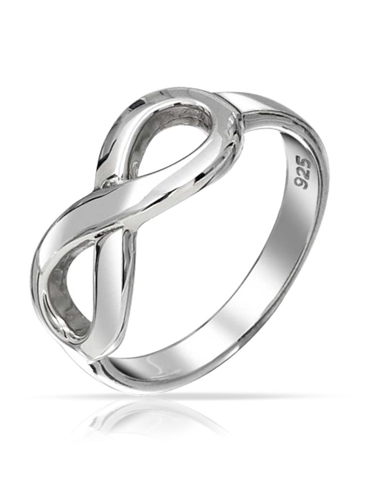 Princess Kylie 925 Sterling Silver Engraved XO Band Ring