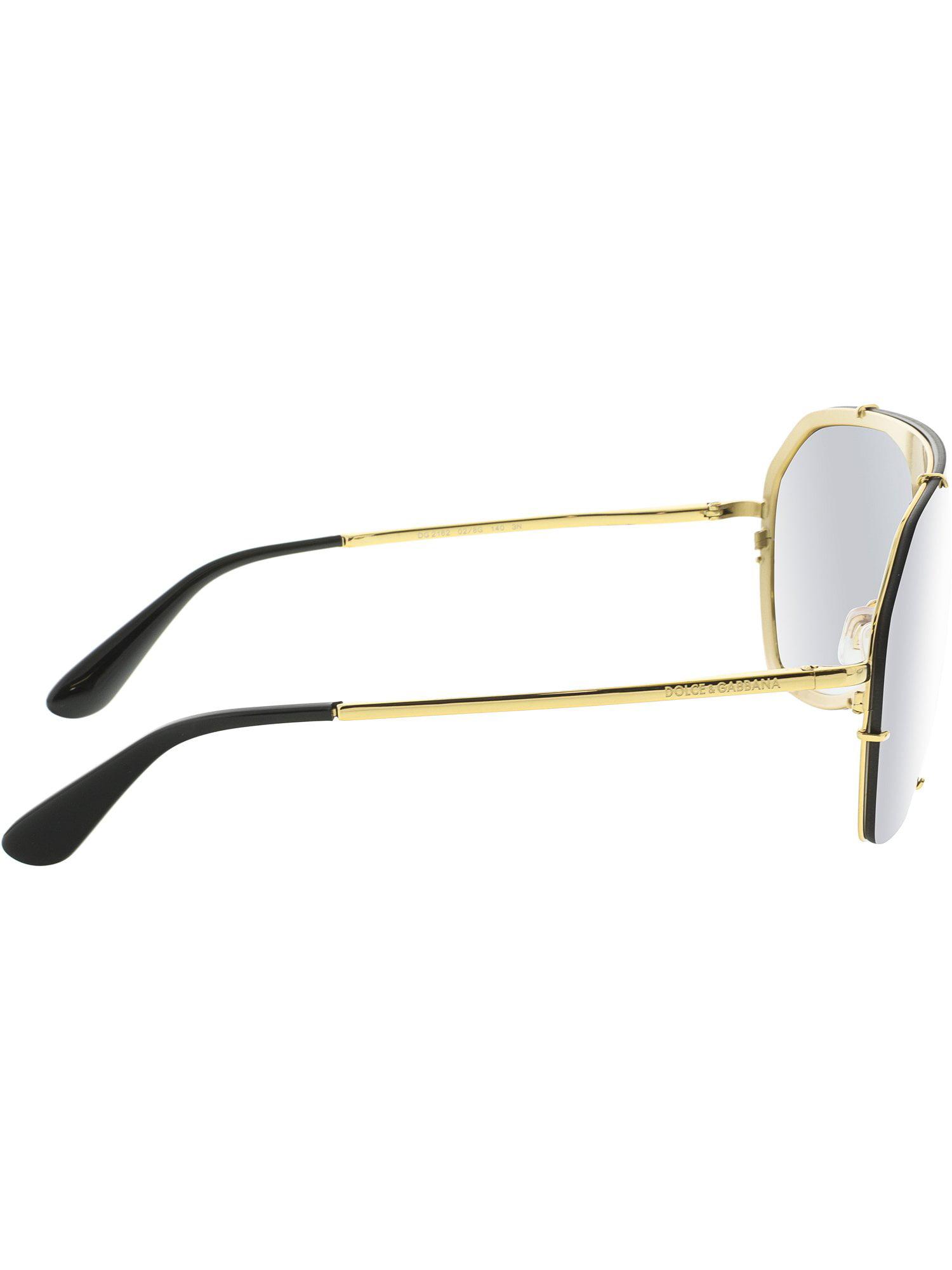 07110aa15807 Dolce   Gabbana - Dolce And Gabbana Women s Gradient DG2162-02 8G-37 Black  Rimless Sunglasses - Walmart.com