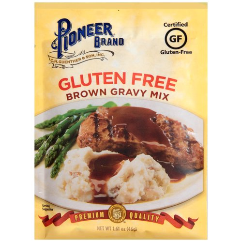 Pioneer Brand® Gluten Free Brown Gravy Mix 1.61 oz. Packet