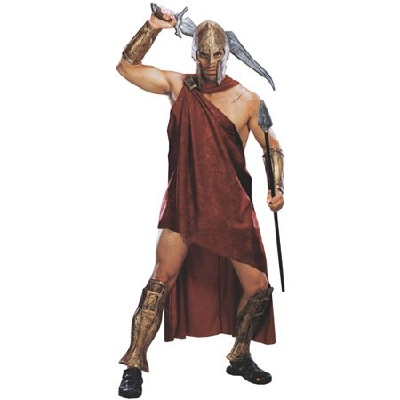Movie 300 Spartan Deluxe Adult Halloween Costume - One Size - 300 Spartan Costumes