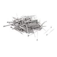 Uxcell 2mm x 30mm x 37mm Stainless Steel Watch Strap Links Cotter Pin (110-pack)