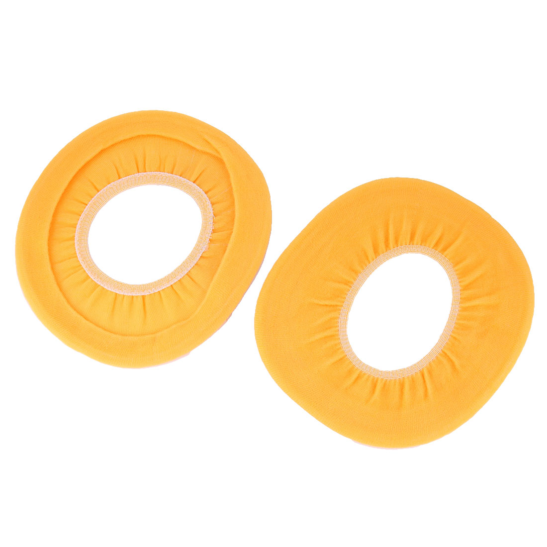 Unique Bargains 2 Pcs Cotton Blends Soft Warm Washable Closestool Toilet  Lid Cover Yellow