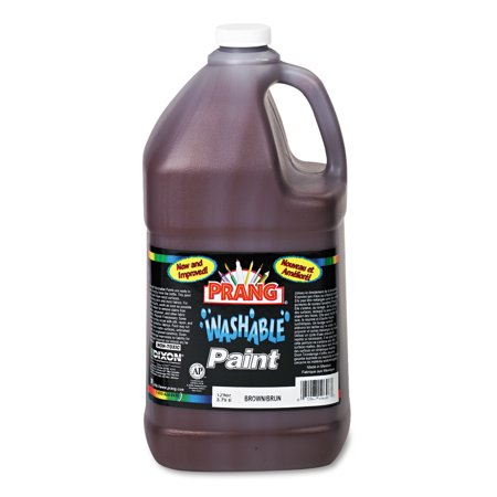 Prang Washable Certified Nontoxic Ready to Use Paint Brown 1 Gallon