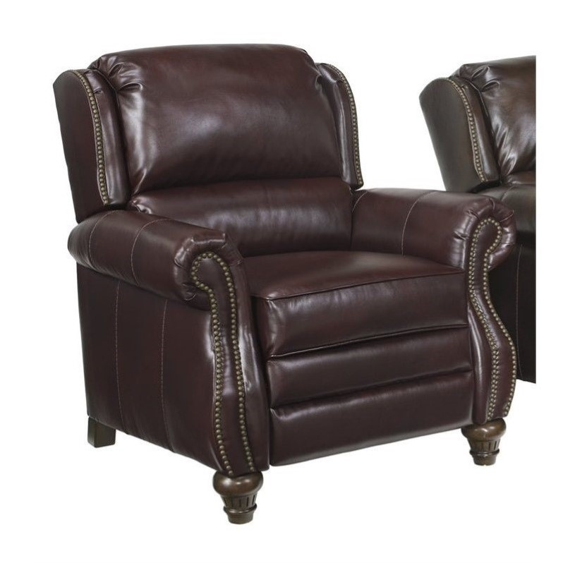 Ashley Elberton DuraBlend Low Leg Recliner In Roma   Walmart.com