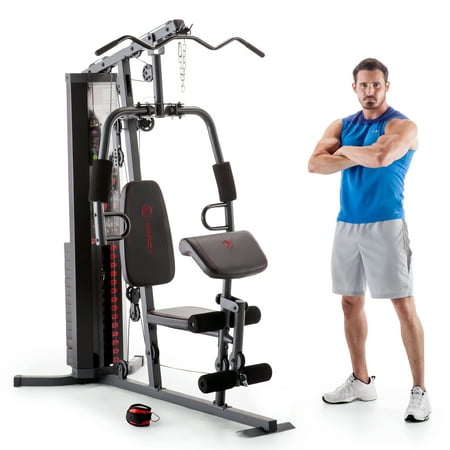 Marcy Dual-Functioning Upper And Lower Body 150-Pound Stack Home Gym |